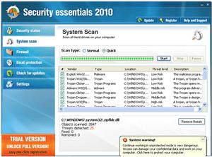 Security Essentials Scareware