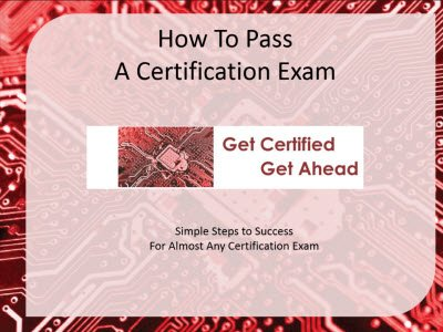 How To Pass a Certification Exam