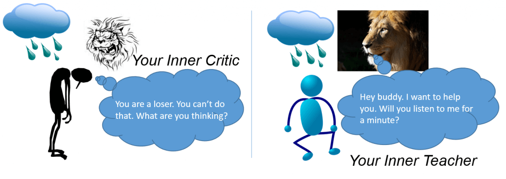 transform your inner critic into an inner coach