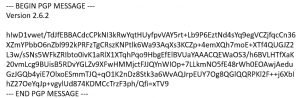 Click to enlarge PGP Message
