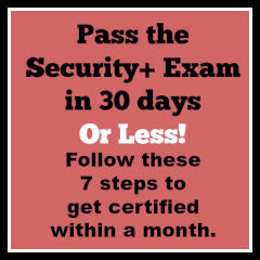 Pass the Security+ Exam
