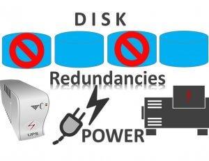 Power redundancies